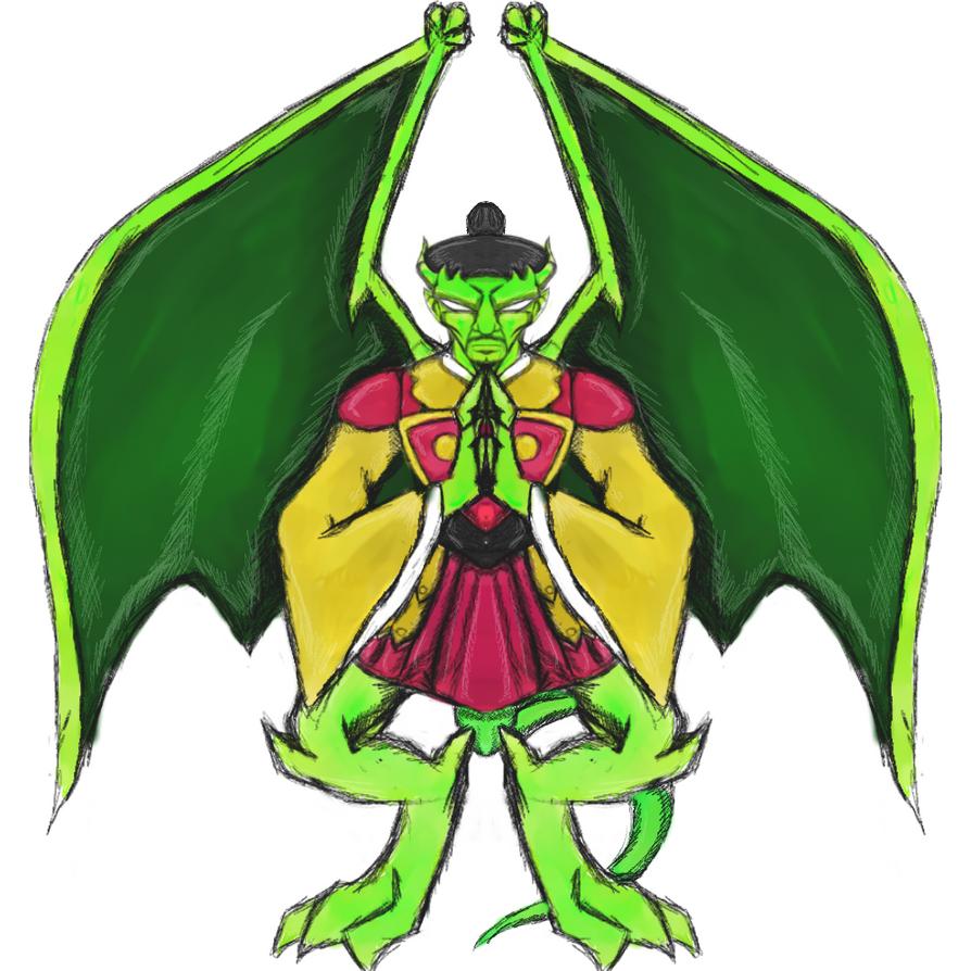 Goa'uld Gargoyles: Lord Yu by dragonfire53511