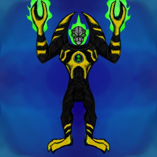 Ben 10 AF Alien: Lodestar by dragonfire53511