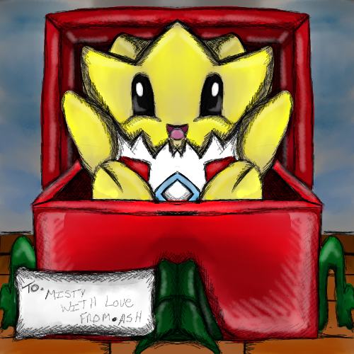 Christmas Togepi by dragonfire53511