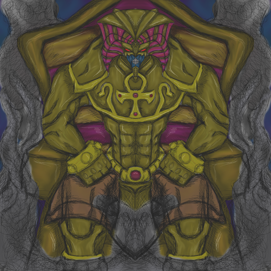 Yugioh - Exodia the Forbidden One by dragonfire53511