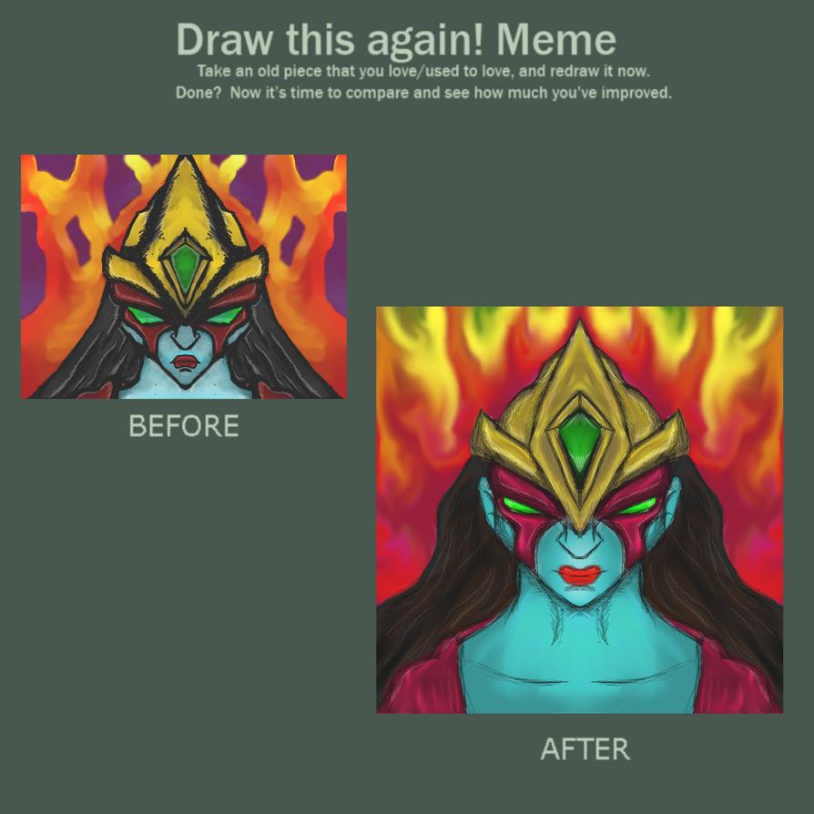 redone me! Yu-gi-oh GX Elemental Hero Burstinatrix by dragonfire53511