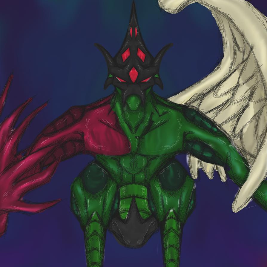 Yu-gi-oh GX: Elemental Hero Flame Wingman by dragonfire53511