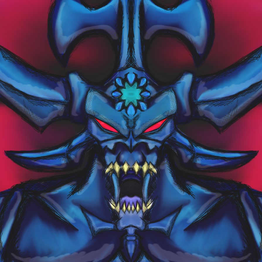 YuGiOh - Egyptian God - Obelisk The Tormentor by dragonfire53511
