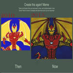 redo meme - Steel Clan meet Iron Clan 2 by dragonfire53511