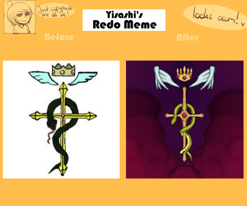 Redo Meme - Full Metal Alchemist Cross by dragonfire53511