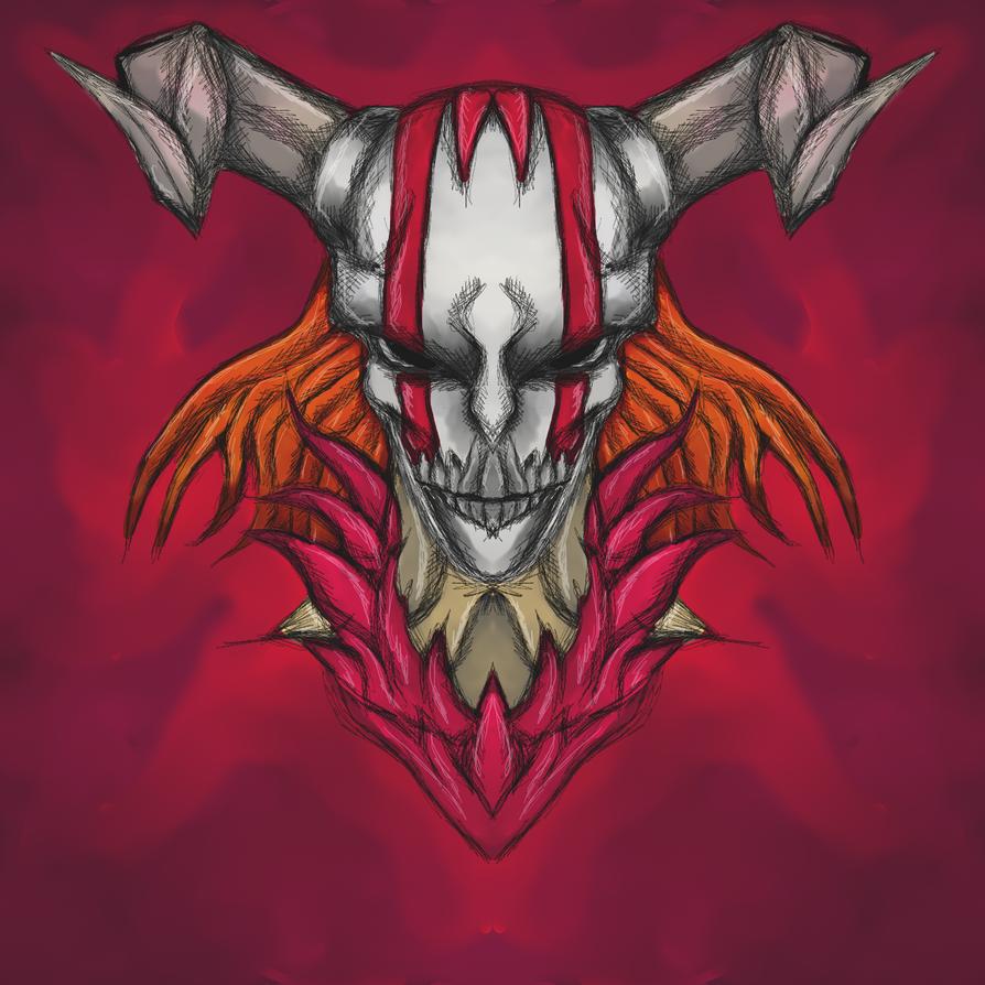 Bleach: Hollow Ichigo by dragonfire53511