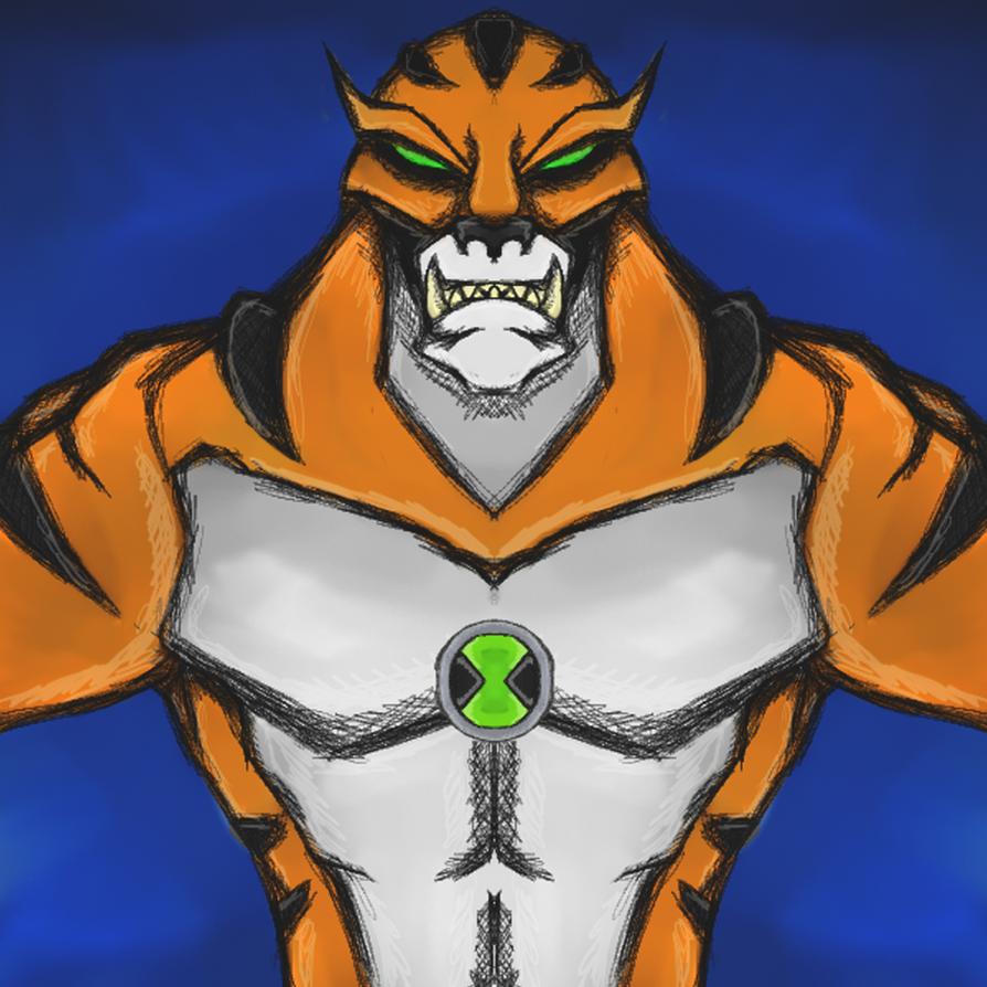 Ben 10 - Rath by dragonfire53511