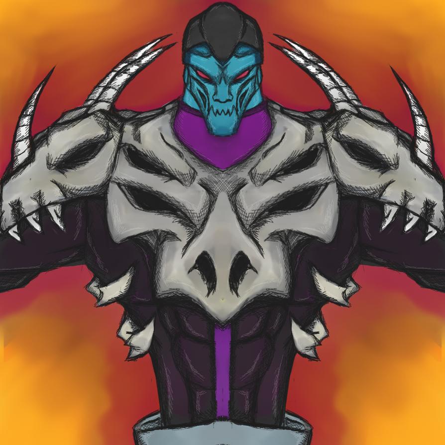 Ben 10 Omni Villian - Khyber by dragonfire53511