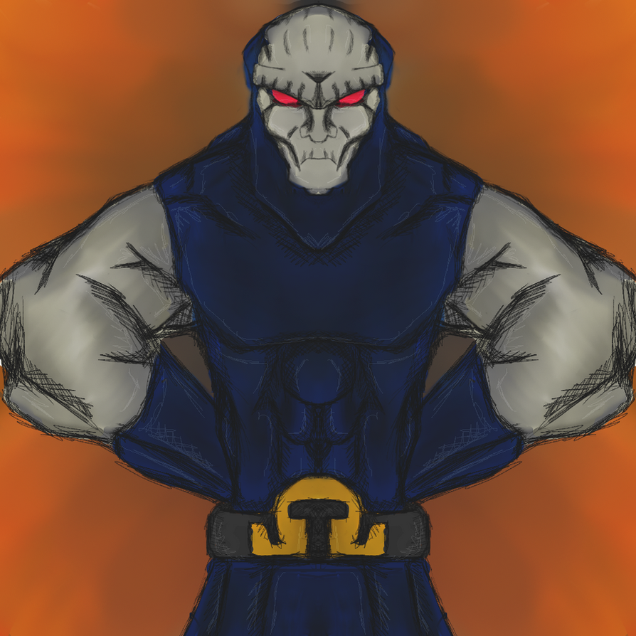 DC Villain - DarkSeid by dragonfire53511