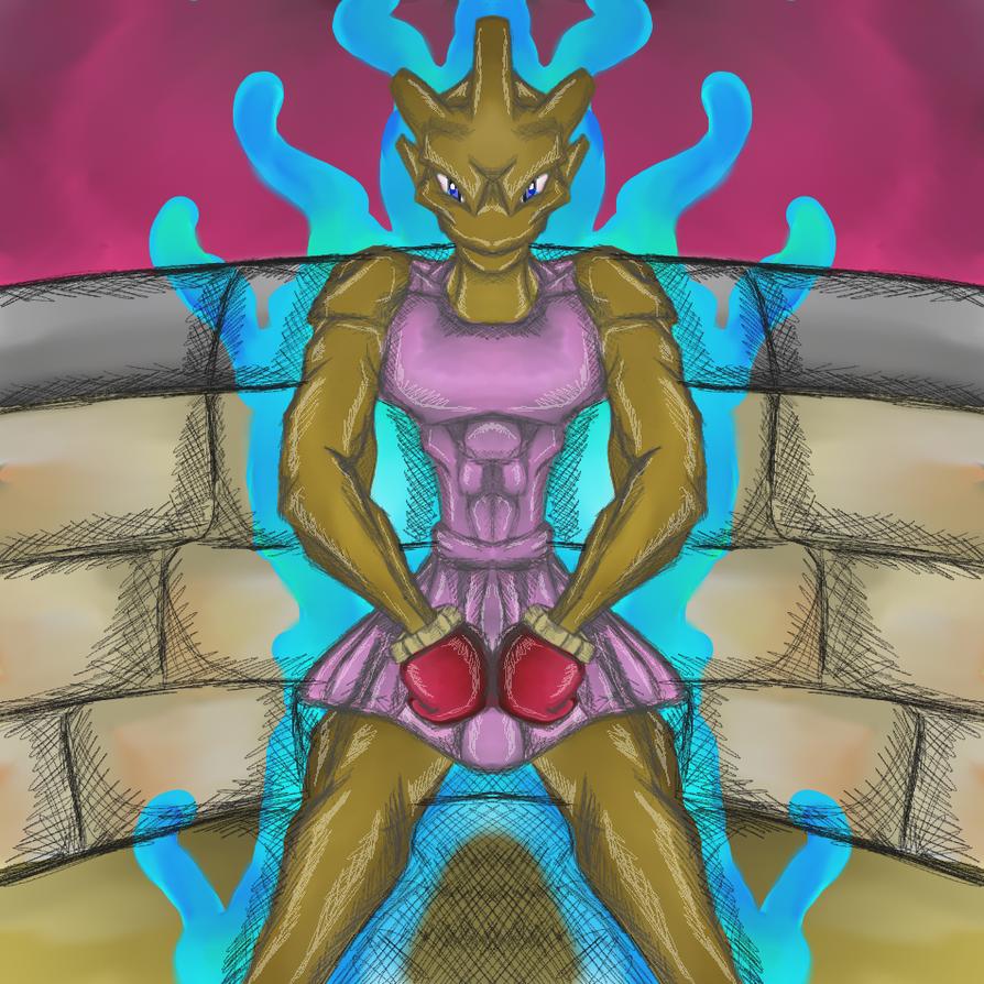 Pokemon - Hitmonchan by dragonfire53511