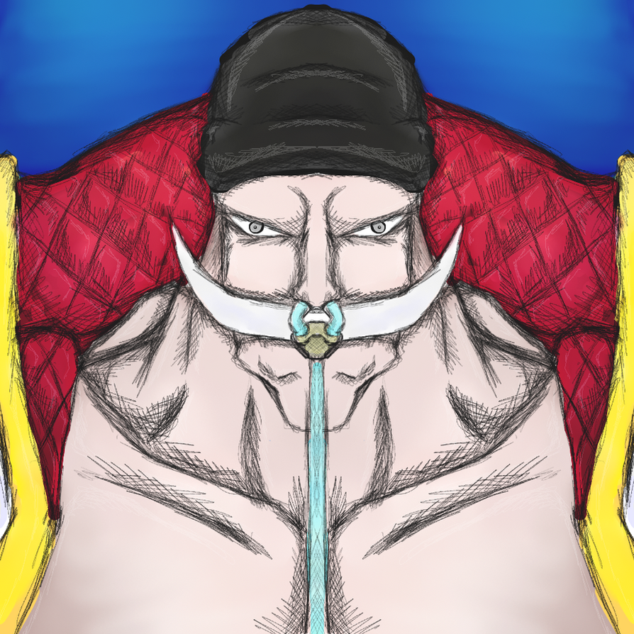 One Piece - White Beard by dragonfire53511