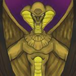 Stargate SG1 / Gargoyle Crossover - Apophis by dragonfire53511