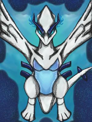 Pokemon - Lugia by dragonfire53511