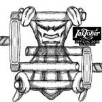 Inktober Pokemon Style - Day 26 - Stretch - Ditto