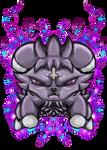Aika The Espurr (PokeSona / Pokemon OC) by dragonfire53511