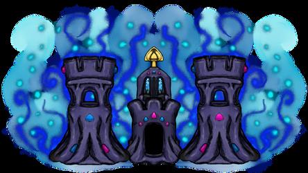 Pokemon - Shiny Palossand by dragonfire53511