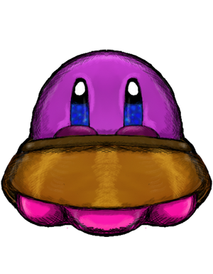 Outer Space Crossover for Charity - UFO Kirby by dragonfire53511