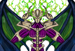 Yu-gi-oh ~ Summon Skull (feminine style)
