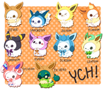 PacaxEevee YCH[OPEN]