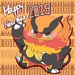 Happy New Year 2019 Emboar