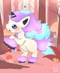 Galar Ponyta super cute