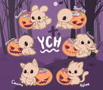 [Open] Happy Hallowed YCH by Butapokko