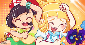 Pokemon Moon and Lillie Gotcha