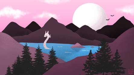 A Dragon Landscape