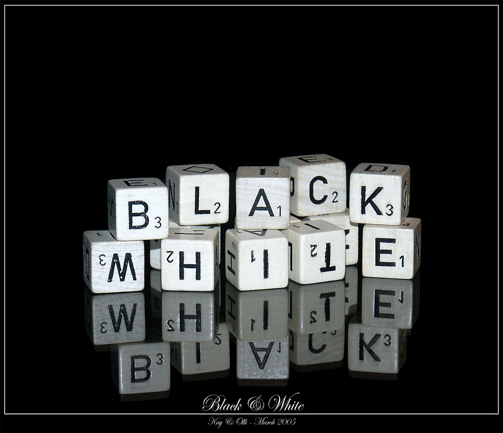 Black and White by oelje