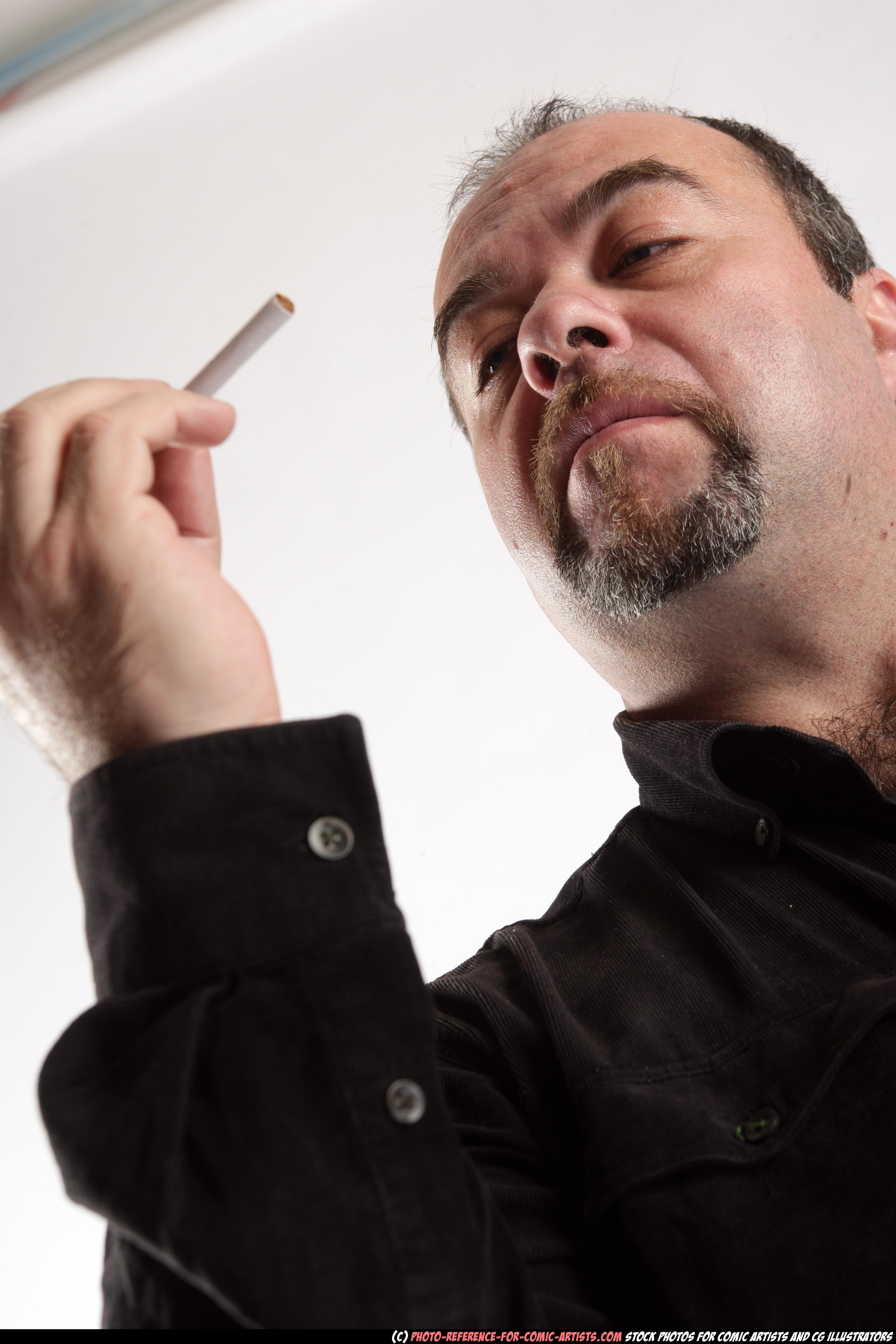 Gangsta with cigarette