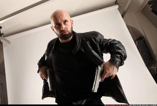 Drawing pistols like a Max Payne!