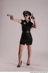 Nikita Policewoman With Guns