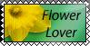 Flower Lover Stamp
