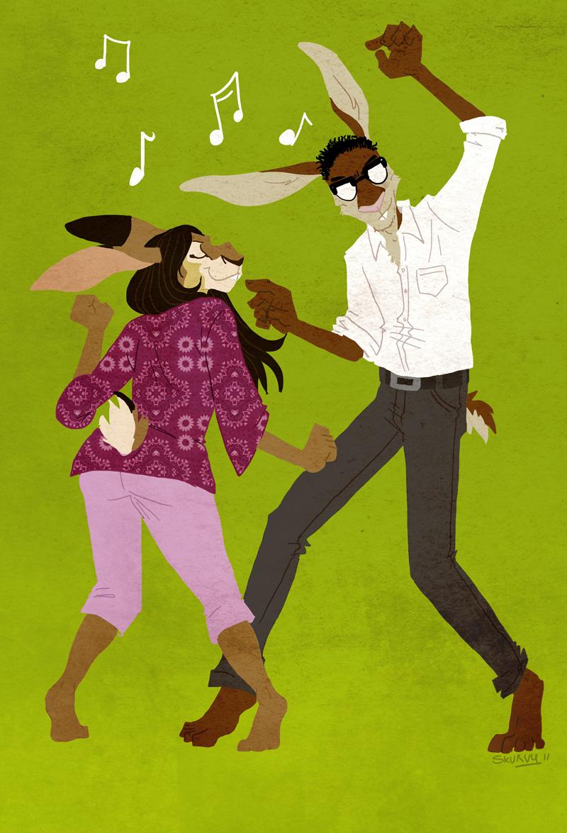 dance by skurvies