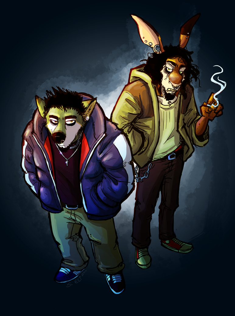 ain't easy bein' greasy by skurvies
