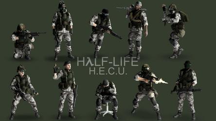 Half-Life: H.E.C.U. - Marine Showcase