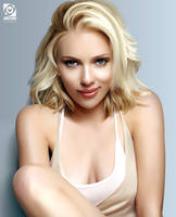 Scarlett Johansson Vector by AngstromAlliance