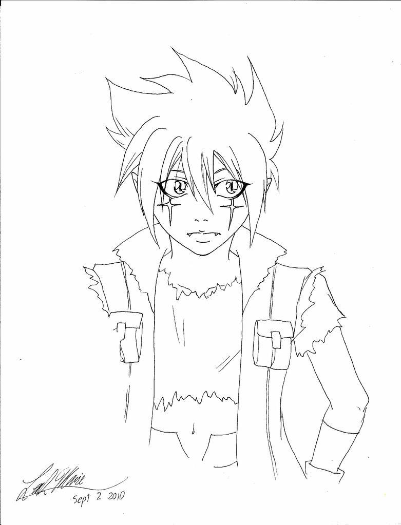 Kyoya Beyblade Drawing