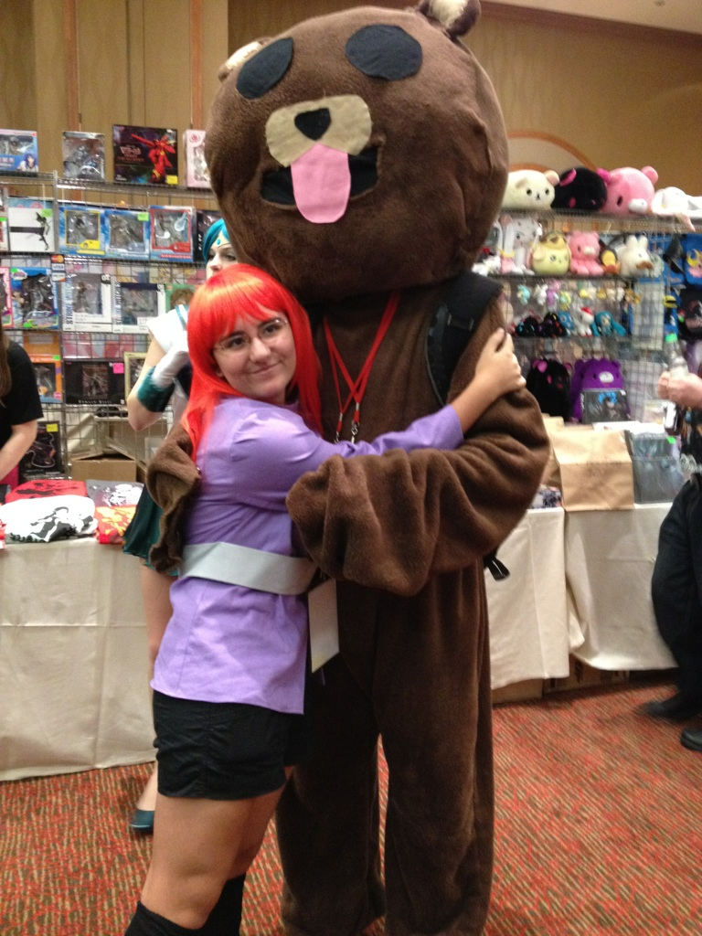 Huggin' the Pedo-Bear by Graceful-Dragonair