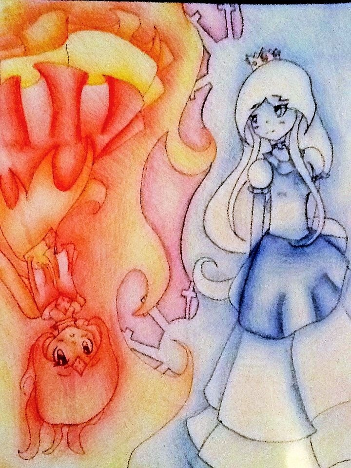 Ying Yang of Fire and Ice by Mizuki-Yorudan