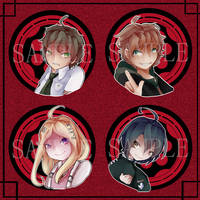 Protagonist Buttons