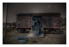 Die Rampe - Shoah Memorial by serenityamidst