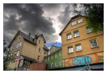 Riverside Houses by serenityamidst