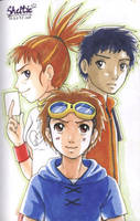Digimon Tamers by Shel-chan