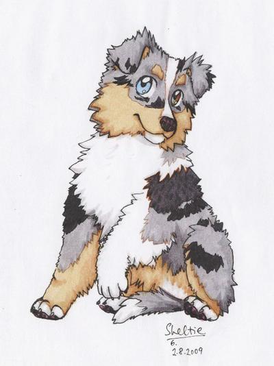 Sheimi the Puppy by Shel-chan