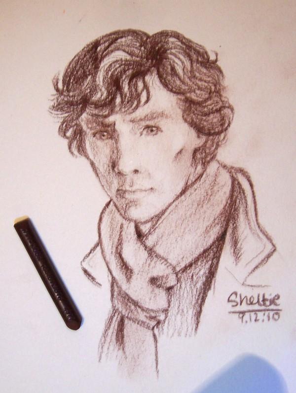 Sherlock, leads portrait by Shel-chan
