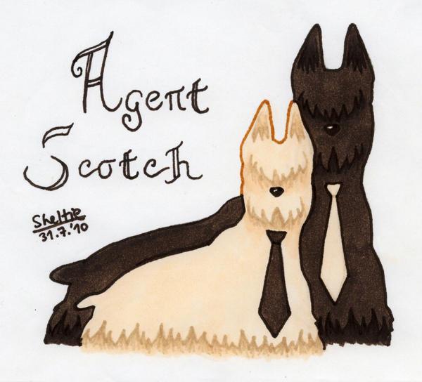Agent Scotch by Shel-chan