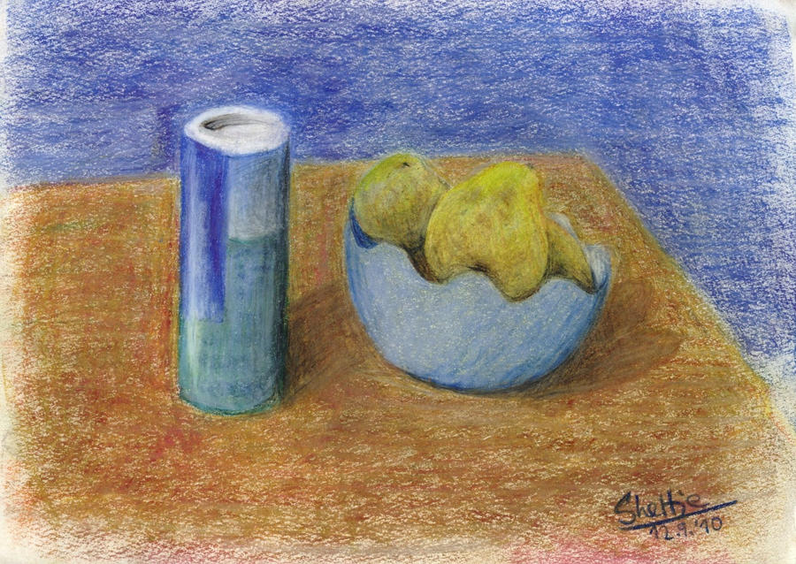 Pears with Salt. by Shel-chan