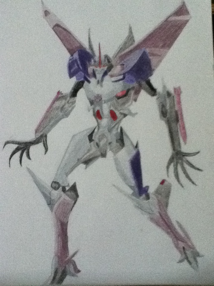 Transformers Prime: Starscream by ElizabethPrime