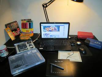 My artist station by CBGINK